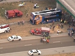 Megabus Crash Injures More Than 20