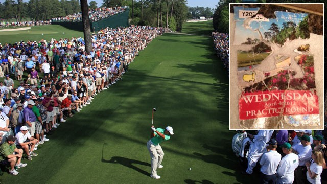 Golf Fan's Augusta MASTERS TICKETS Eaten by Dog, Pieced Together ...