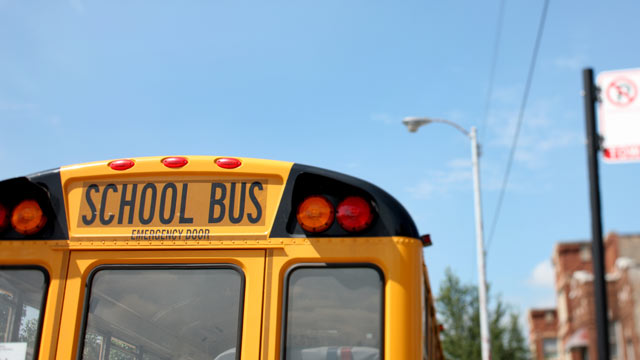 PHOTO: Clayton County neighborhood said a gunman was aiming for children who were getting on a school bus.