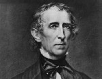 PHOTO: US statesman John Tyler, the 10th President of the United States of America.