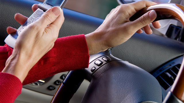 PHOTO: Nearly two out of every 10 drivers and half of drivers ages 21 to 24 said they are texting while driving, according to a NHTSA survey released last week.