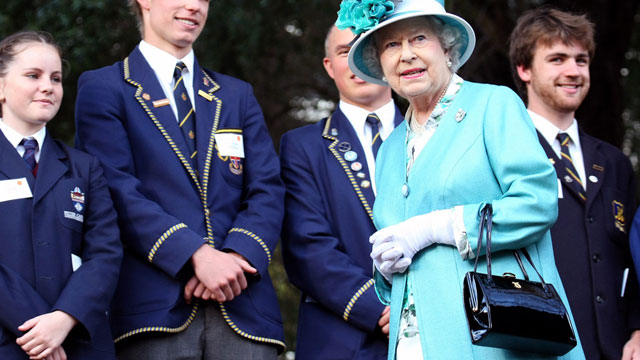 PHOTO: Queen Elizabeth II attends a State Reception held at Government House, Oct. 27, 2011 in Perth, Australia.