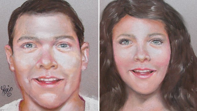 PHOTO: The Harris County Sheriff's Office has released these composite sketches of what the parents of an abandoned newborn may look like.