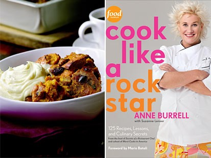 Anne Burrell's cookbook