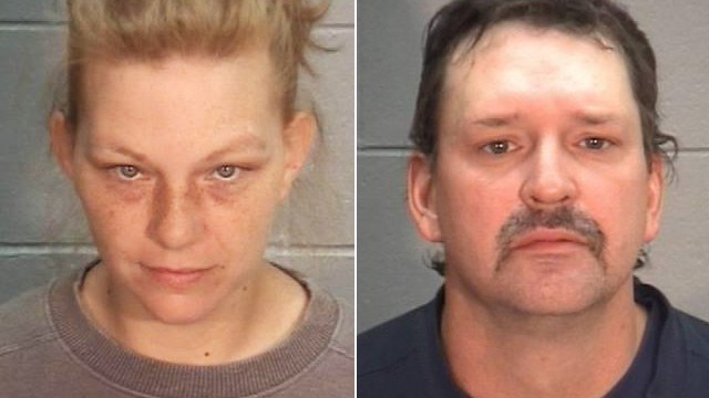 PHOTO: Jenna Elizabeth Danish and Thomas Jay Williams Jr. mugshots