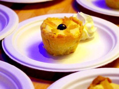 PHOTO:??The black bottom lemon cream pie from The Blue Stove.
