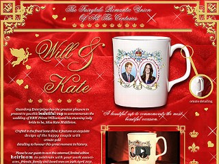 "PHOTO: A screen shot of a ""Royal Union"" mug for sale, featuring the wrong prince."