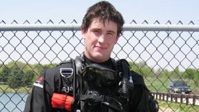 PHOTO: Russell Vanhorn, a 23 year old Iraqi Veteran, was killed after a scuba tank explosion in St. Petersburg, FL, is seen in this undated file photo.