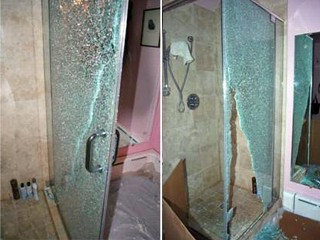 Tempered Glass Dangers: Glass Shower Doors Can Shatter Suddenly