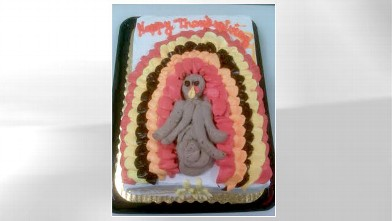 PHOTO: A Thanksgiving cake catastrophe is shown here from CakeWrecks.com.