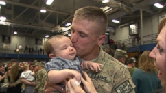 Soldiers' Emotional Return Home