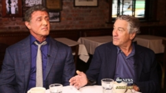 Robert De Niro, Sylvester Stallone on Making 'Grudge Match'