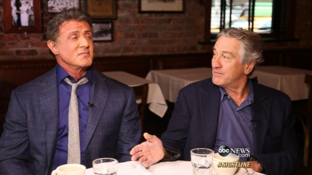 Robert De Niro, Sylvester Stallone on Making Grudge Match