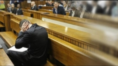 Oscar Pistorius Covers Ears During Witness Testimony