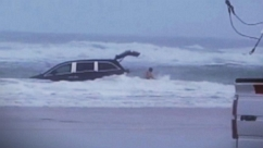 Kids Screamed as Mom Drove Van into Ocean, Rescuers Say