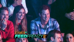 Feed Frenzy: Prince Harry Steps Out With Girlfriend
