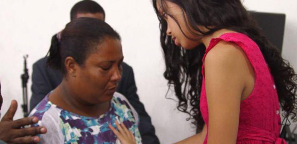 Child Healer, 10, Attracts Believers From Around the World