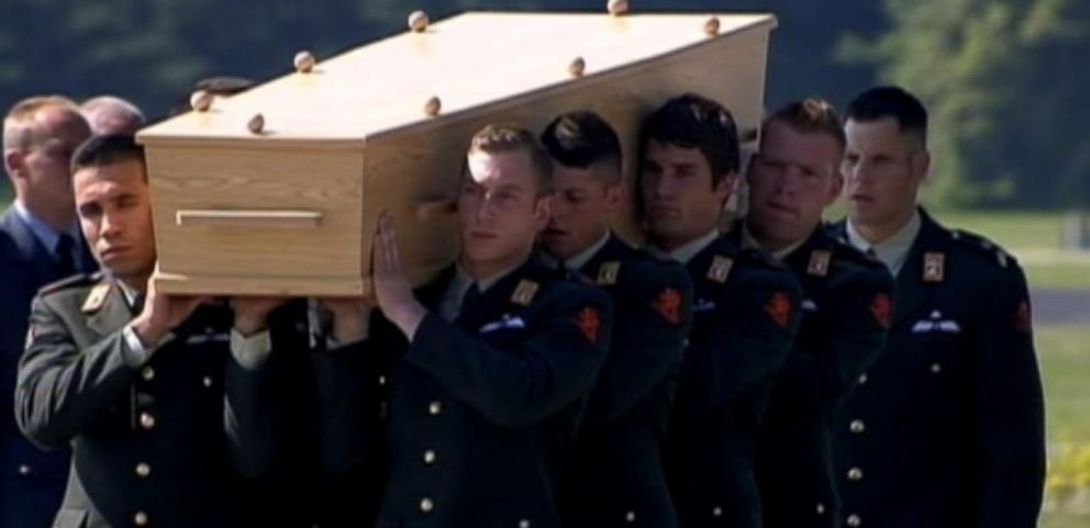 Victims Bodies from Malaysia Airlines Tragedy Come Home