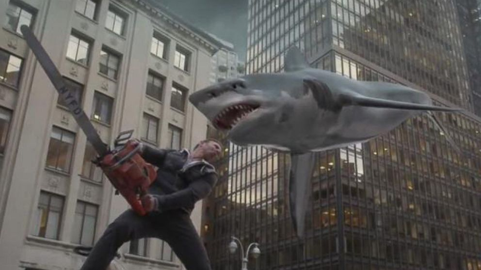 Grab Your Chainsaws! Sharknado 2 Takes NYC