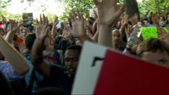Hands-Up: Protests Continue in Ferguson, Missouri