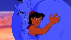Turning Robin Williams into Aladdins Genie