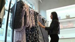 VIDEO: Fashion industry experts say more consumers are buying a few high-end pieces instead of lots of cheaper clothing.