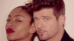VIDEO: Robin Thicke and Pharrell are locked in a legal battle with Marvin Gayes estate over their hit song.