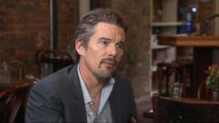 How Ethan Hawke Relates to Boyhood Role