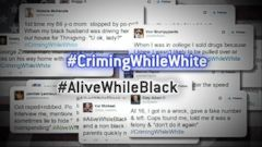 #CrimingWhileWhite, #AliveWhileBlack Hashtags Raise Questions About Race, White Privilege