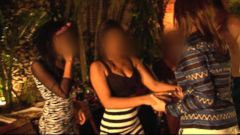 Undercover for Alleged Underage Prostitution Raid at Colombia Villa