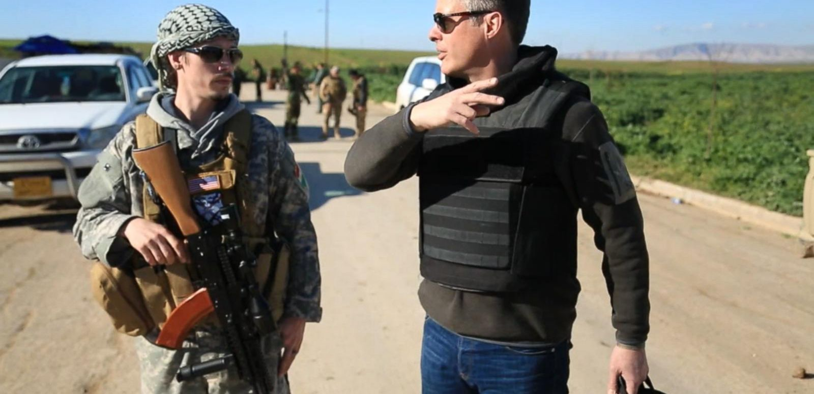 American 'Soldier of Christ' Fights ISIS in Iraq