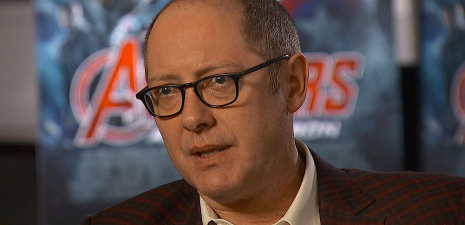 VIDEO: 'Avengers: Age of Ultron' James Spader on Playing the Villain