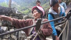 VIDEO: This 90-Year-Old Chinese Grandmother Has Been Ziplining All Her Life