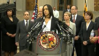 Nightline 05/01/15: Six Officers Connected to Freddie Grays Death Face Criminal Charges