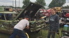 Crash Queens: These Demolition Derby Moms Are Hard Hitters