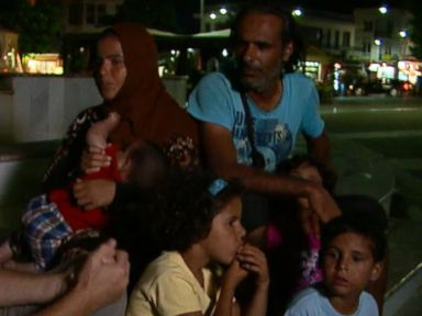 VIDEO: ABC News Terry Moran follows the journey of a family of Syrian refugees who are desperate to get to Germany.