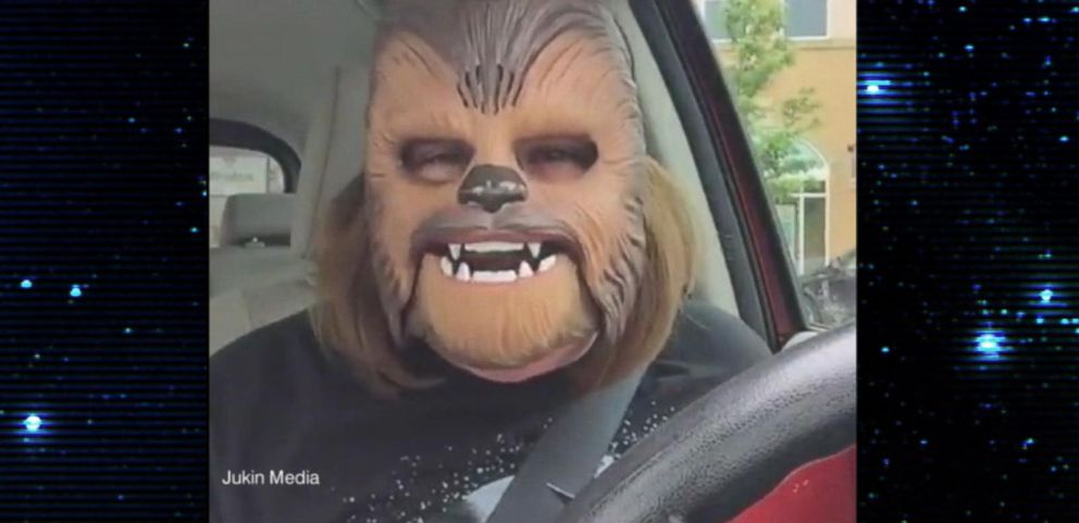 VIDEO: Chewbacca Moms Moment of Joy Becomes Viral Sensation