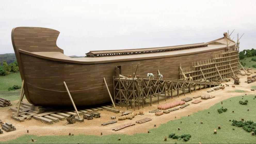 ... Size Version of Noah's Ark Comes to Life in Kentucky Video - ABC News