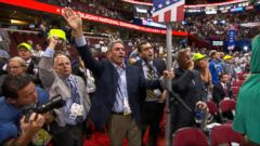 GOP Convention Kicks Off with Protests Amid Push for Rules Vote