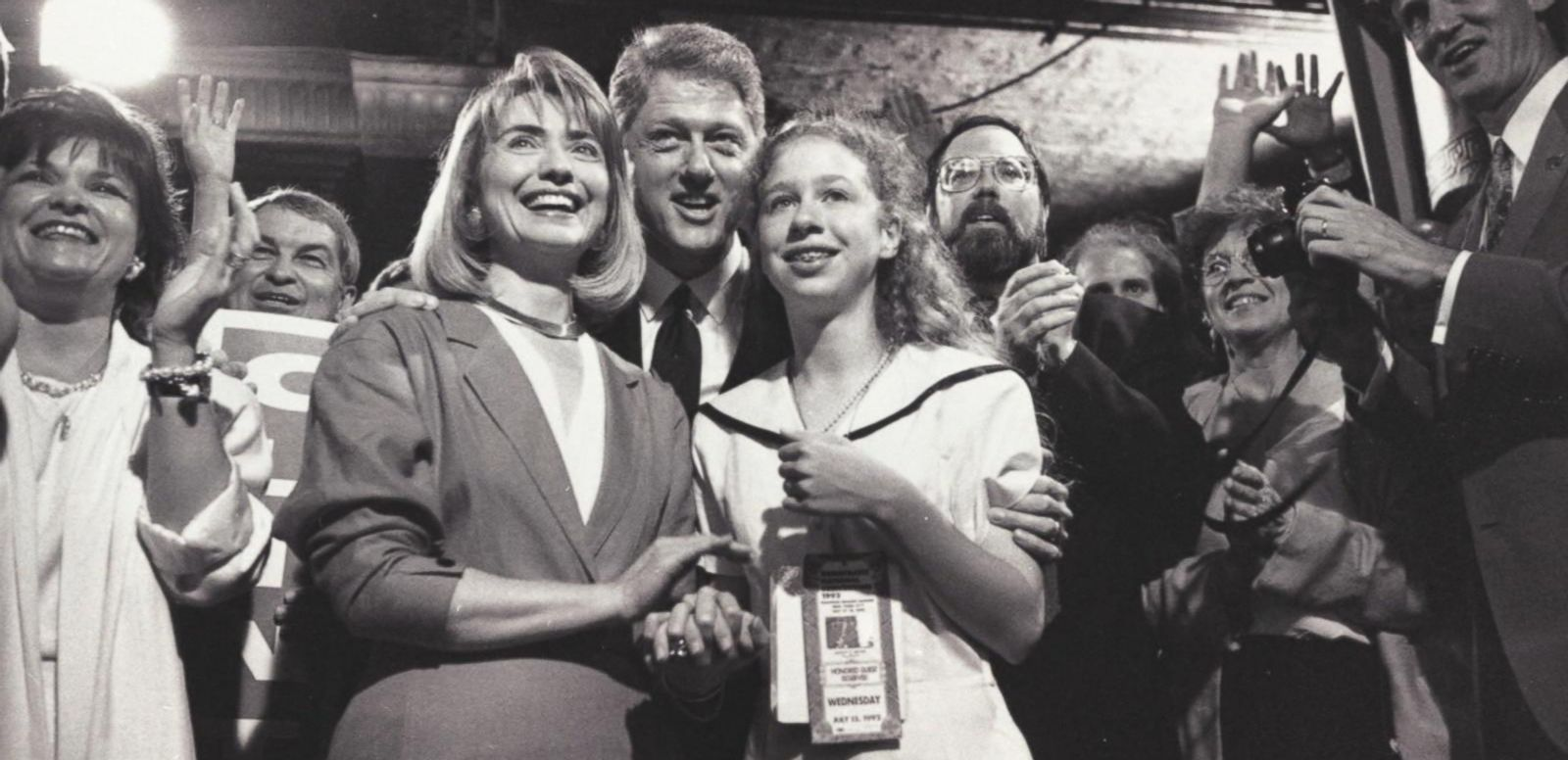 The Clintons, Then and Now