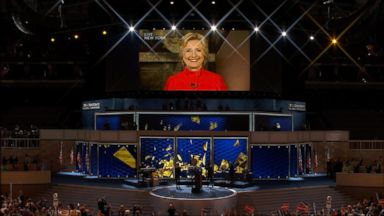 Nightline 07/26/16: Hillary Clinton Makes History as First Female Presidential Nominee