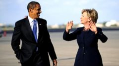 Barack Obama, Hillary Clinton, an Unlikely Team of Rivals