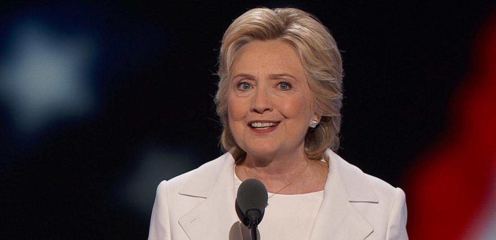 Hillary Clinton Accepts the Democratic Nomination