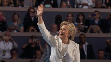 Nightline 07/28/16: Hillary Clinton Accepts the Democratic Nomination