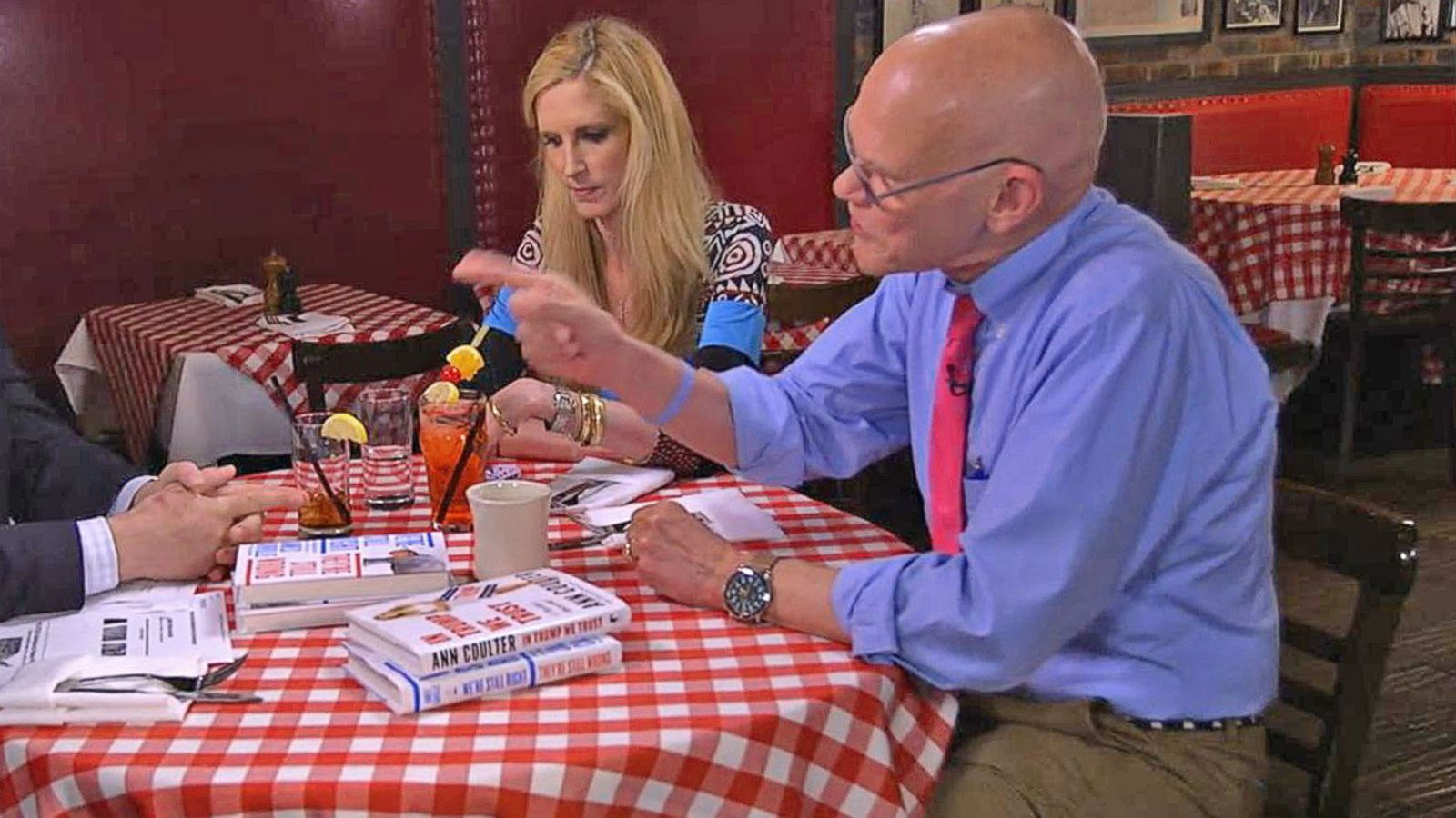 VIDEO: Ann Coulter, James Carville's Full Conversation on the 2016 Presidential Election