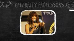 VIDEO: Tyra Banks Adds College Lecturer to Her Resume