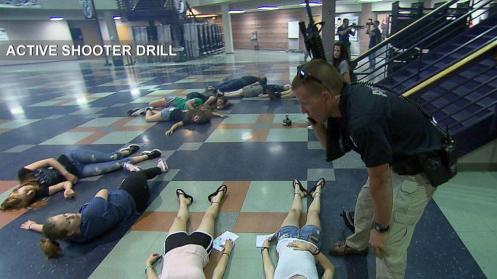 VIDEO: Colorado Officers Practice Simulated Active Shooter Situation