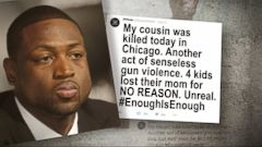 Dwyane Wade Cousins Murder Amid Chicago Shooting Spike