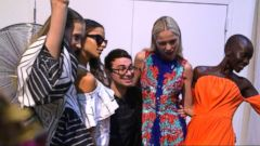 Behind the Scenes with Designer Christian Siriano at NY Fashion Week