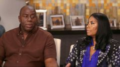 Cookie and Magic Johnson on His HIV Diagnosis, Their Son Being Gay